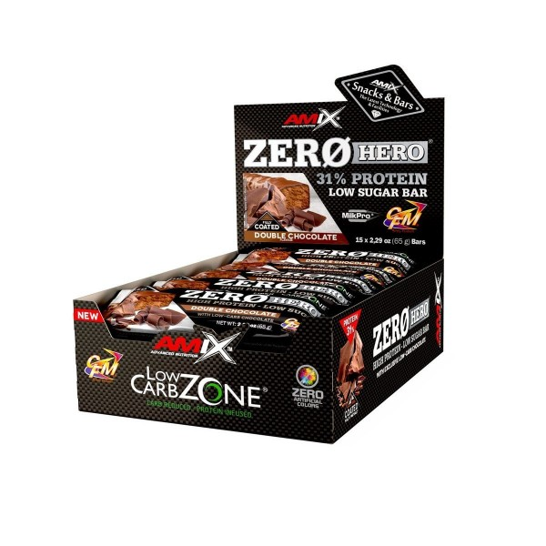 ZeroHero Protein Bar 15x65g