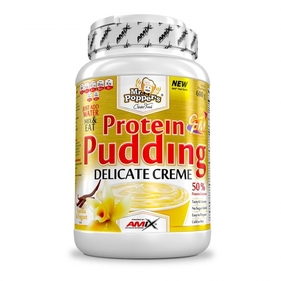 Protein Pudding Creme 600g -Amix Nutrition