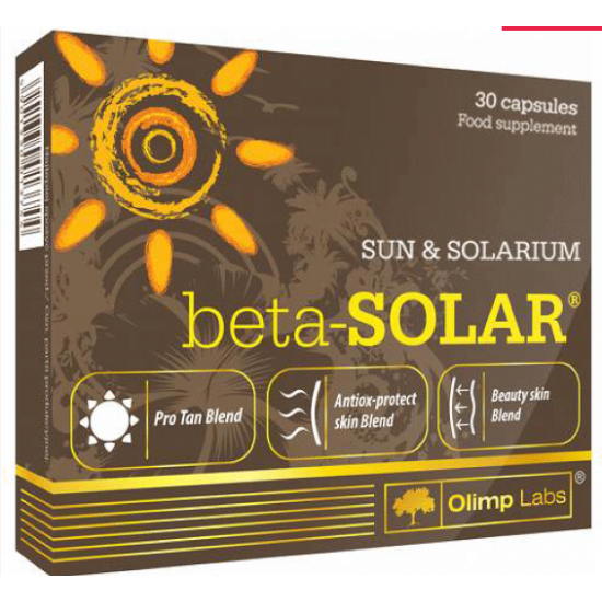 Olimp Labs Beta-Solar 30 kapsulas -Olimp Labs