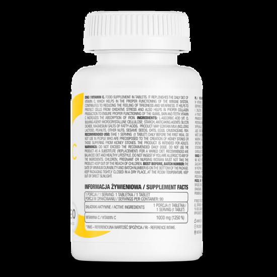 OstroVit Vitamīns C 90 Tabletes -Ostrovit