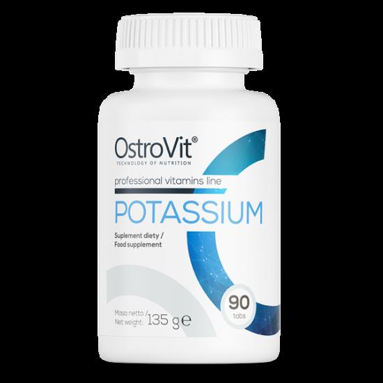 OstroVit Potassium/Kālijs 90 Tabletes -Ostrovit