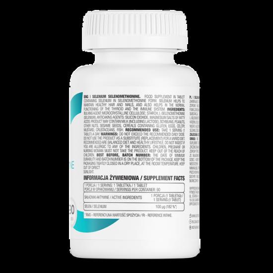 OstroVit Selēns/Selen 90 Tabletes