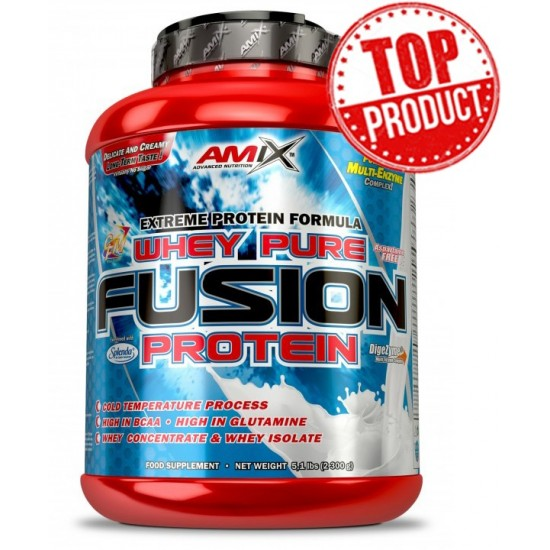 Whey Pure Fusion 2300g -Amix Nutrition