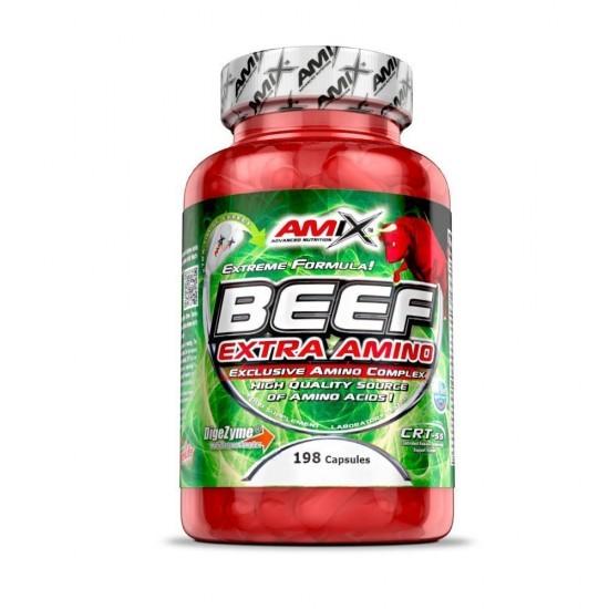 Beef Extra Amino 198 caps -Amix Nutrition
