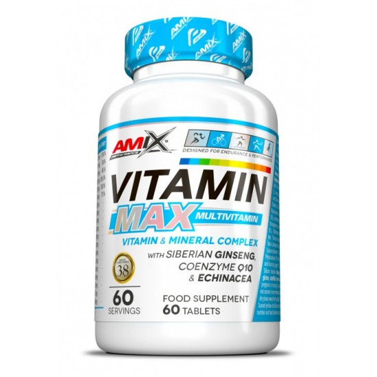Amix Nutrition Vitamin MAX 60 Tabletes -Amix Nutrition