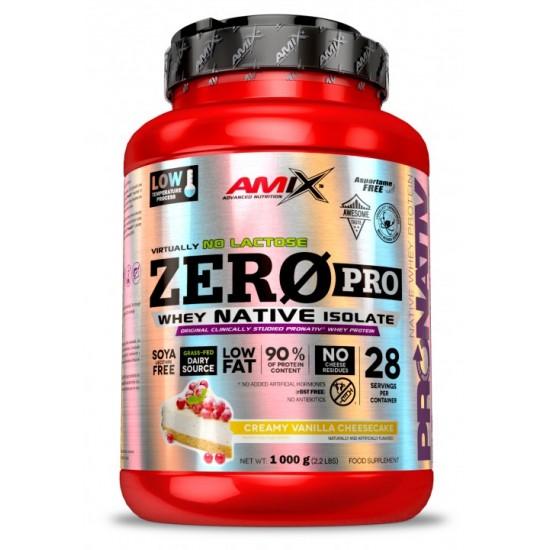 Amix ZeroPro izolāts 1000g -Amix Nutrition