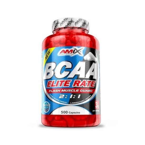 Amix BCAA Elite Rate 500 caps -Amix Nutrition