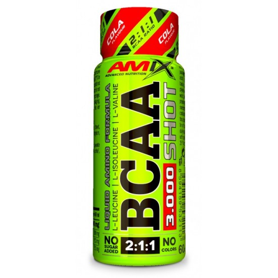 BCAA  3000 SHOT 20x60 ml -Amix Nutrition