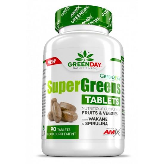 Super Greens 90 Tab -Amix Nutrition