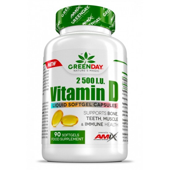 Vitamin D3 90 caps -Amix Nutrition