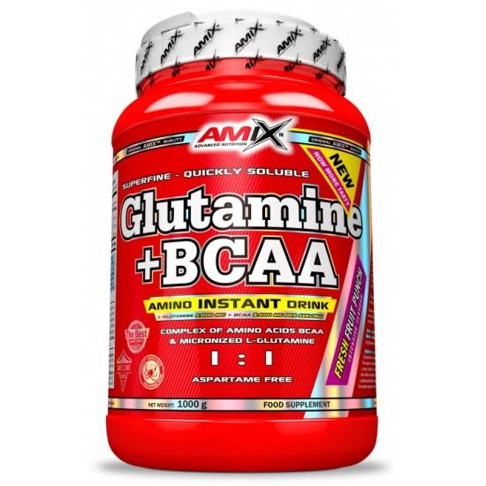 Glutamine + BCAA  1000g -Amix Nutrition