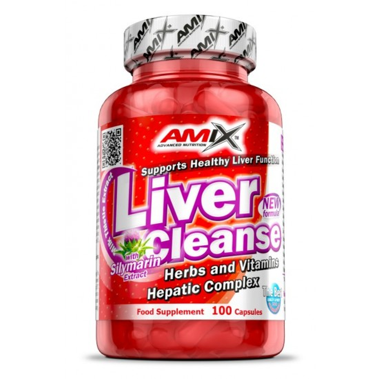 Liver Cleanse 100 caps -Amix Nutrition