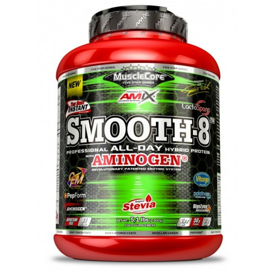 Smooth-8 Multi-Protein  2300g -Amix Nutrition