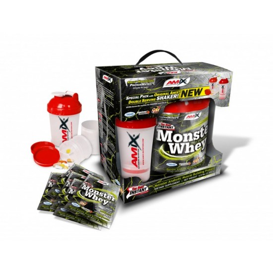 Anabolic Monster Whey 2000g + 6x33g -Amix Nutrition