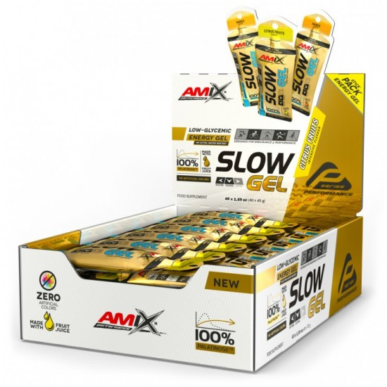SLOW Palatinose Gel 40x45g -Amix Nutrition