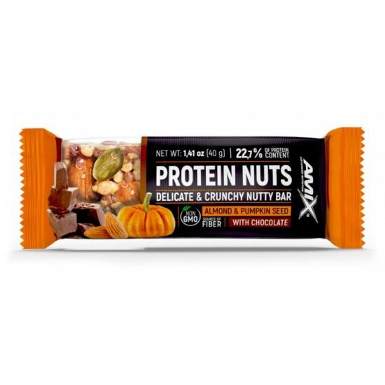 Amix Protein Nuts batoniņš 40g -Amix Nutrition