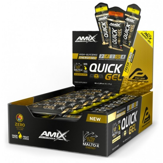 QUICK Energy Gel 40x45g -Amix Nutrition