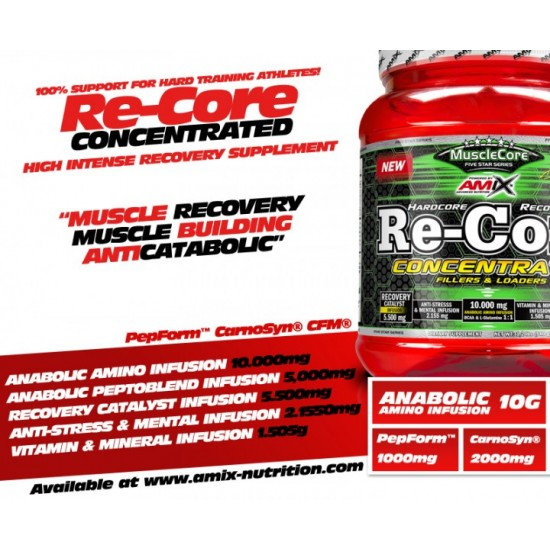 Amix Re-Core Concentrated 540g -Amix Nutrition