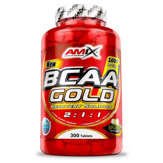 Bcaa Gold 300 tab -Amix Nutrition