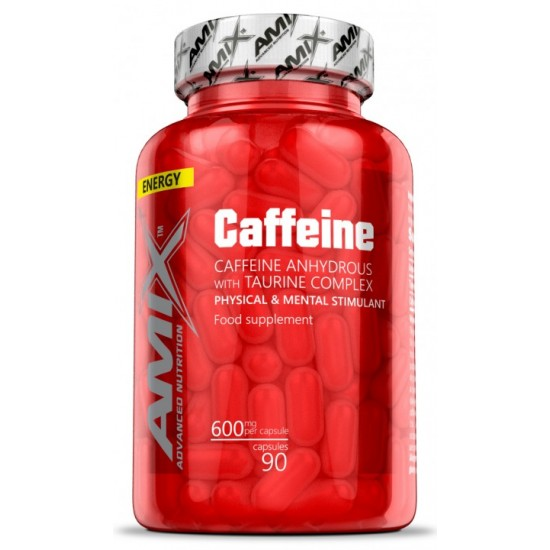 Amix Caffeine with Taurine 90 caps -Amix Nutrition