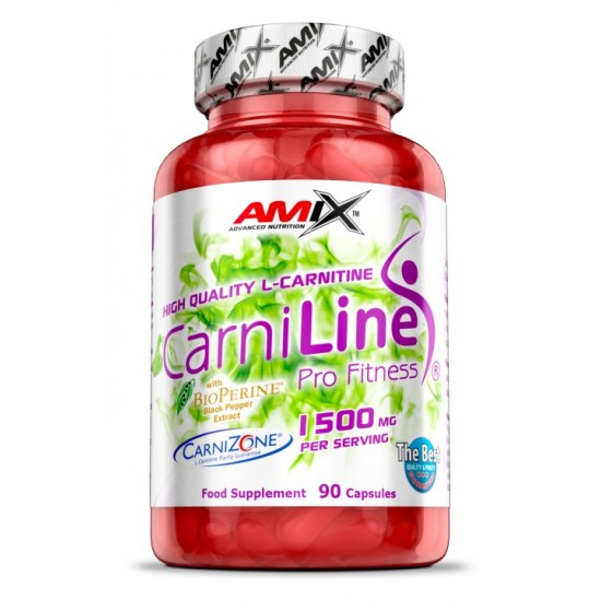 Carniline Pro Fitness 90 caps -Amix Nutrition