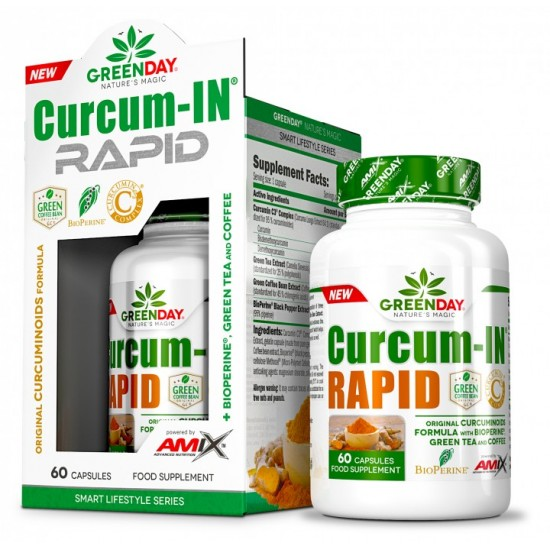 Curcum-IN Rapid 60 caps -Amix Nutrition