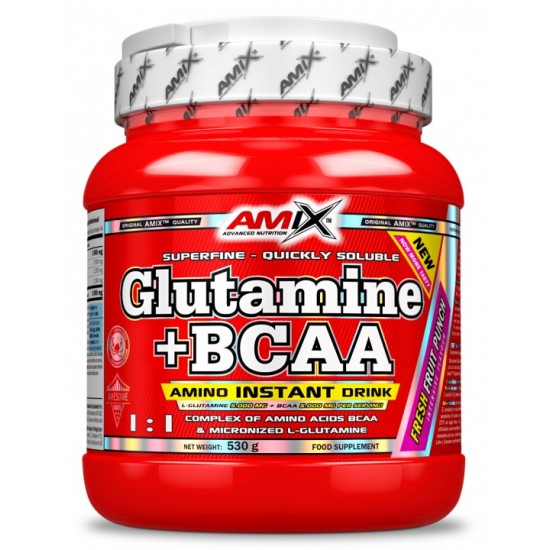 Glutamine + BCAA  530g -Amix Nutrition