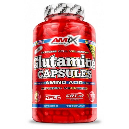 Glutamine + BCAA Capsules 360 caps -Amix Nutrition