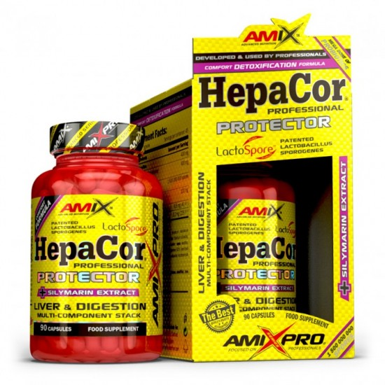Hepacor Protector 90 caps -Amix Nutrition