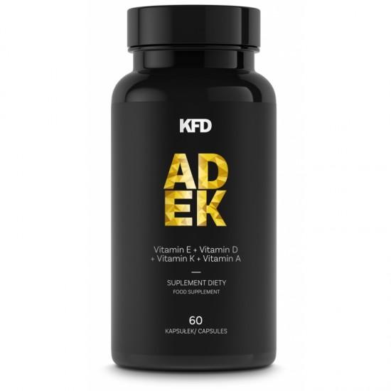 KFD ADEK 60 caps Vitamins (A,D,E,K) -KFD Nutrition