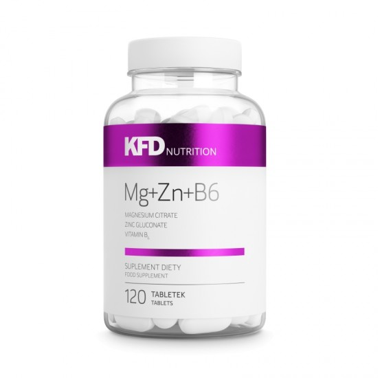 Mg Zn B6 - ZMA 120 Tab -KFD Nutrition