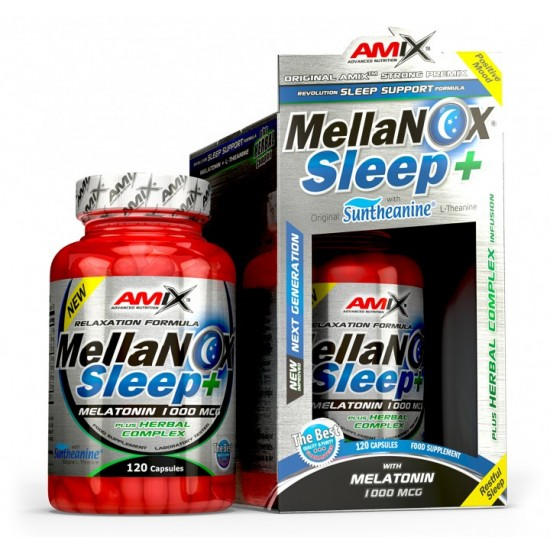 MellaNOX Sleep+ 120 caps -Amix Nutrition