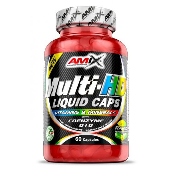 Multi-HD Liquid Caps 60 caps -Amix Nutrition