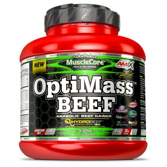 Amix Optimass Beef Geineris 2500g -Amix Nutrition