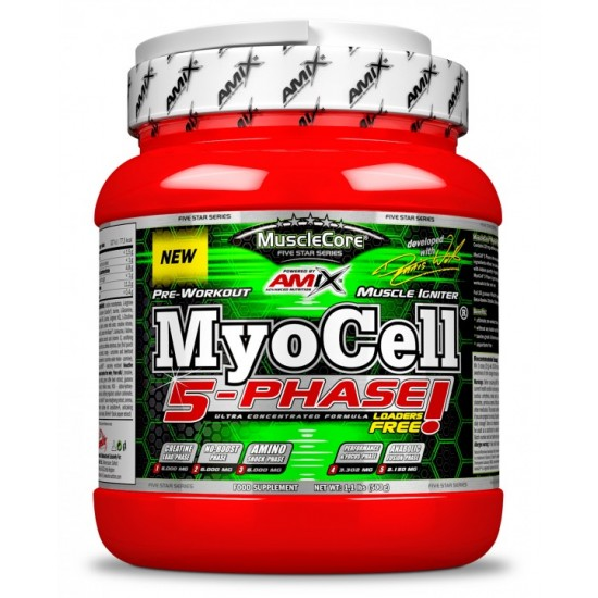 MyoCell 5 Phase 500g -Amix Nutrition