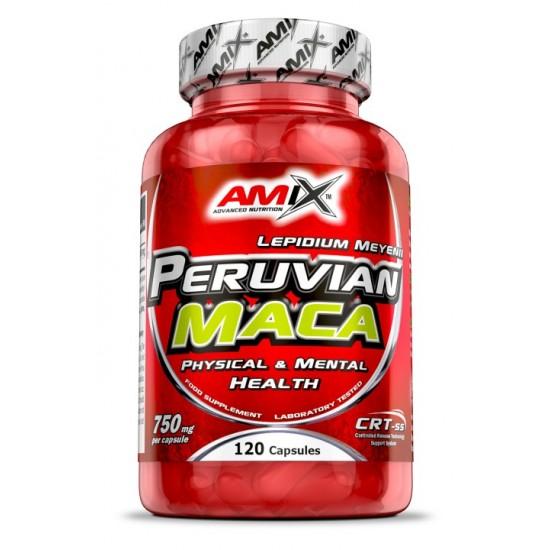Peruvian Maca 120 caps -Amix Nutrition