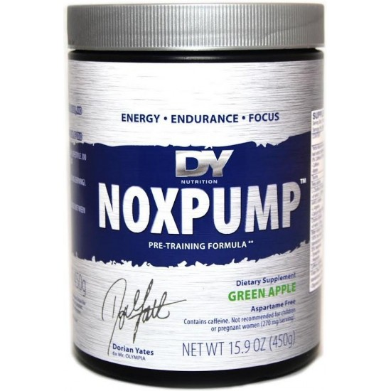 Dorian Yates NoxPump 450g -Dorian Yates Nutrition