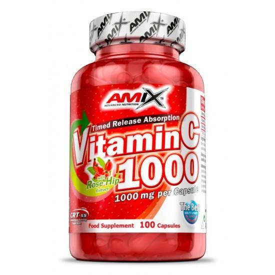 Amix Vitamin C 1000 100caps -Amix Nutrition