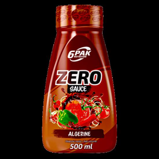 6 PAK-Zero Sauce -  Algerine 500ml