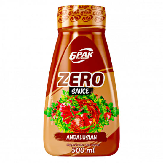 6 PAK-Zero Sauce -  Andalusian 500ml