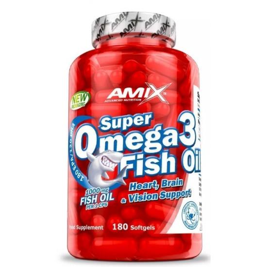 Amix Super Omega 3 Zivju eļļa 180 caps