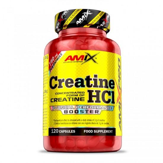 Creatine HCL / Kreatīna Hidrohlorīds 120 kapsulas