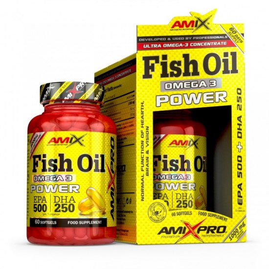 Zivju Eļļa Omega3 Power