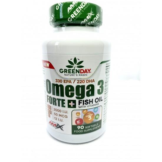 Amix Omega 3 / D3 / K2/ Vit E 90 kapsulas