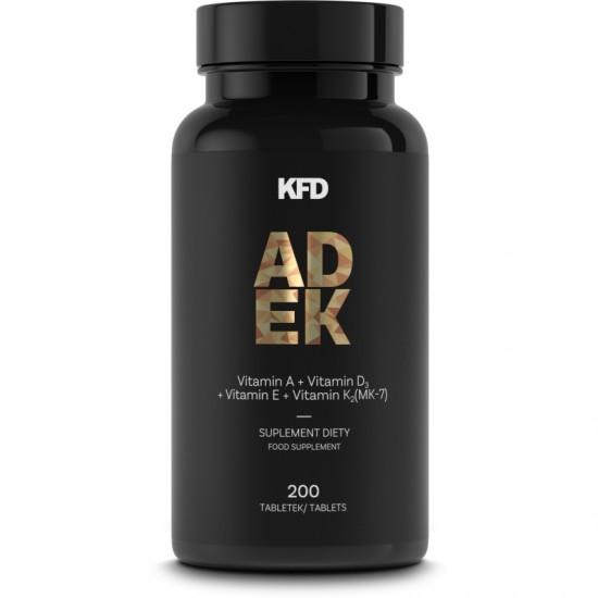KFD ADEK 200 tabletesVitamins (A,D,E,K) - KFD Nutrition