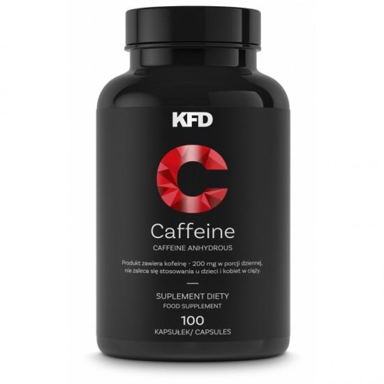 KFD Caffeine 100 kapsulas