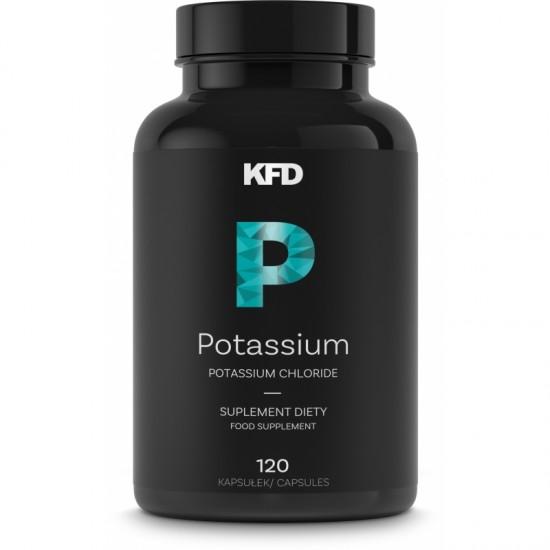Potassium 120 Tab -KFD Nutrition
