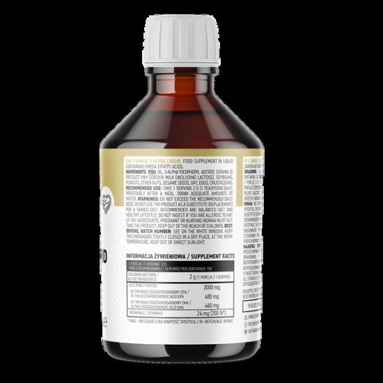 OstroVit Omega 3 šķidrā veidā 300ml