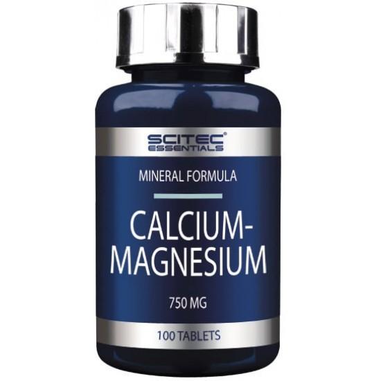 Scitec Magnesium Calcium 100 tab